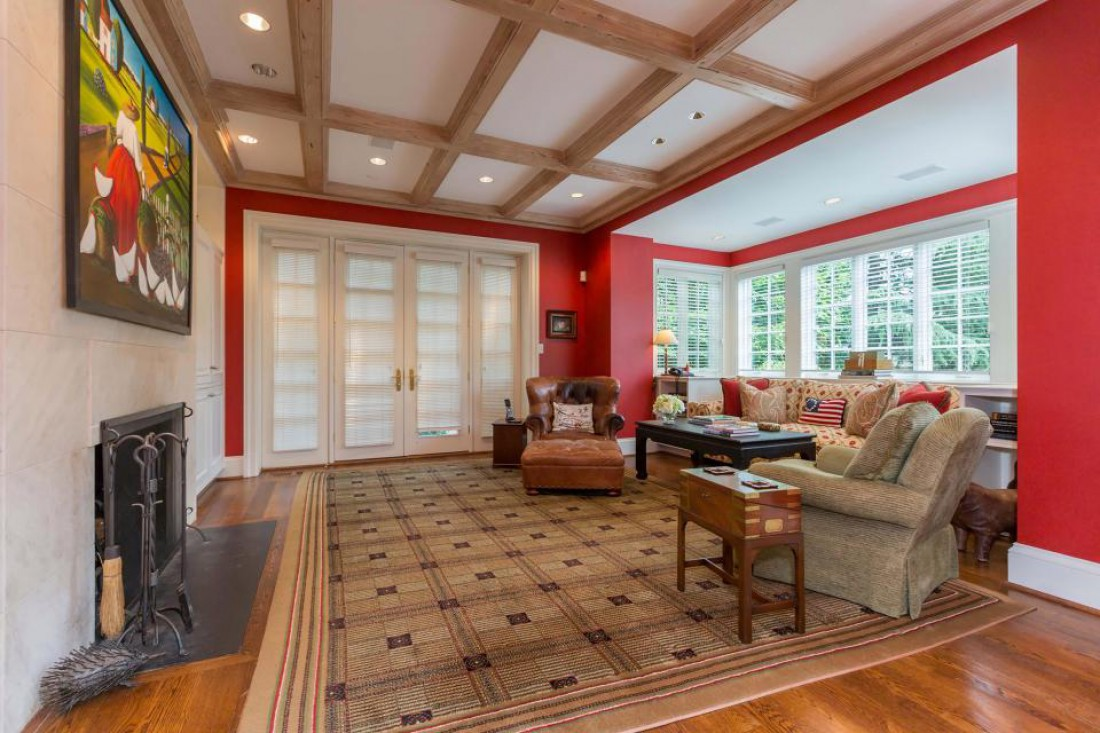Роскошный особняк в Вашингтоне, в котором будет жить Руни
