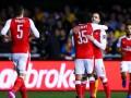 Арсенал оставил бардак в раздевалке после матча Кубка Англии