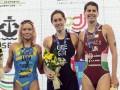 Украинка Елистратова завоевала серебро чемпионата Европы по триатлону