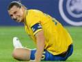 Ибрагимович пропустил тренировку сборной Швеции перед матчем с Россией