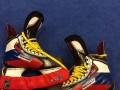 Звезда сборной Росси по хоккею показал свои коньки для Олимпиады