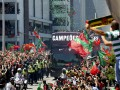 Португальское ликование: Роналду и компания вернулись домой после Евро-2016