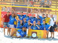 Чемпионами Украины по пляжному футболу стали киевляне