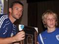 Шевченко встретился с юными израильскими футболистами