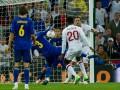 Фотогалерея: Как Украина едва не обыграла Англию