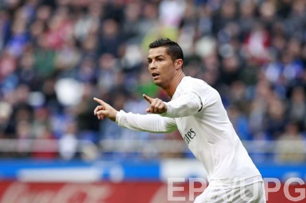 Криштиану Роналду оформил дубль в матче с Депортиво