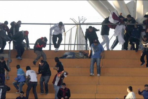 В Аргентине полиция застрелила болельщика в ходе беспорядков на трибунах