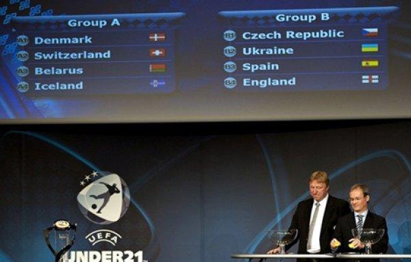 Сборная Украины сыграет в одной группе с Чехией, Испанией и Англией