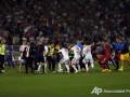 Сборная Албании отказалась продолжать матч с командой Сербии, несмотря на указания UEFA