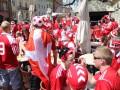 Красное море. Львов заполонили фанаты из Португалии и Дании
