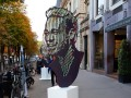 На улице Парижа появился трехметровый портрет Неймара