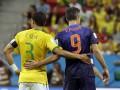 Голландская удаль и бразильское бессилие: Фотогалерея матча за третье место