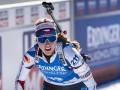 Давидова стала чемпионкой мира по биатлону в индивидуальной гонке