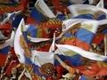 Болельщики встретили футболистов сборной России с цветами и флагами