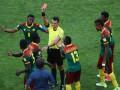 Арбитр удалил не того игрока после видеоповтора на Кубке конфедераций