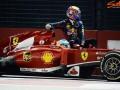 Формула-1. Уэббер потеряет 10 мест за то, что его подвез Алонсо