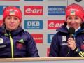 Пидгрушная: На финише эстафетной гонки Дальмайер допустила ошибку