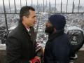 Кличко и Дженнингс посмотрели друг другу в глаза на крыше небоскреба