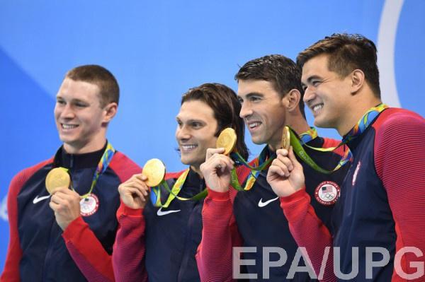 Мужская сборная США по плаванию