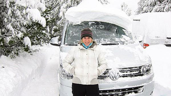 Инна Осипенко-Радомская и ее новая машина