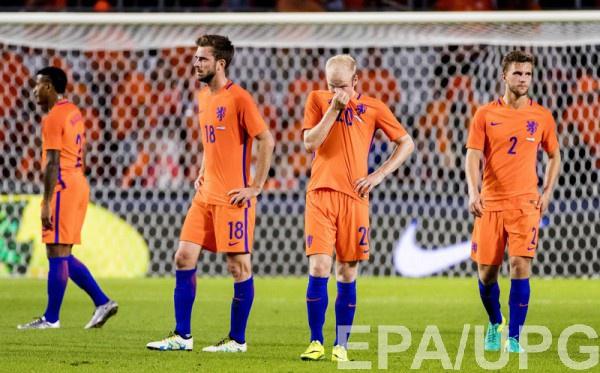 Голландцы продолжают проигрывать