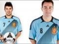 Голубая фурия. Испания представила новую форму к Евро-2012