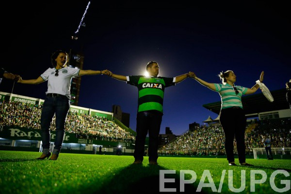 Бразильские клубы сплотились для помощи Шапекоэнсе