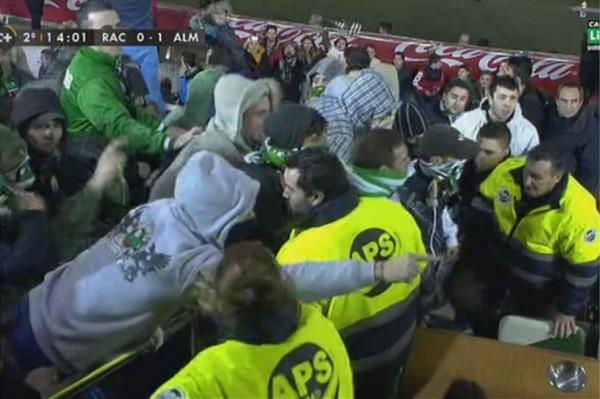 Фанаты Расинга атакуют президента клуба