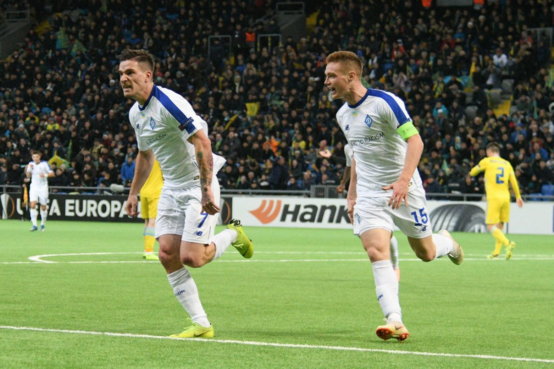 Динамо обыграло Астану в матче ЛЕ