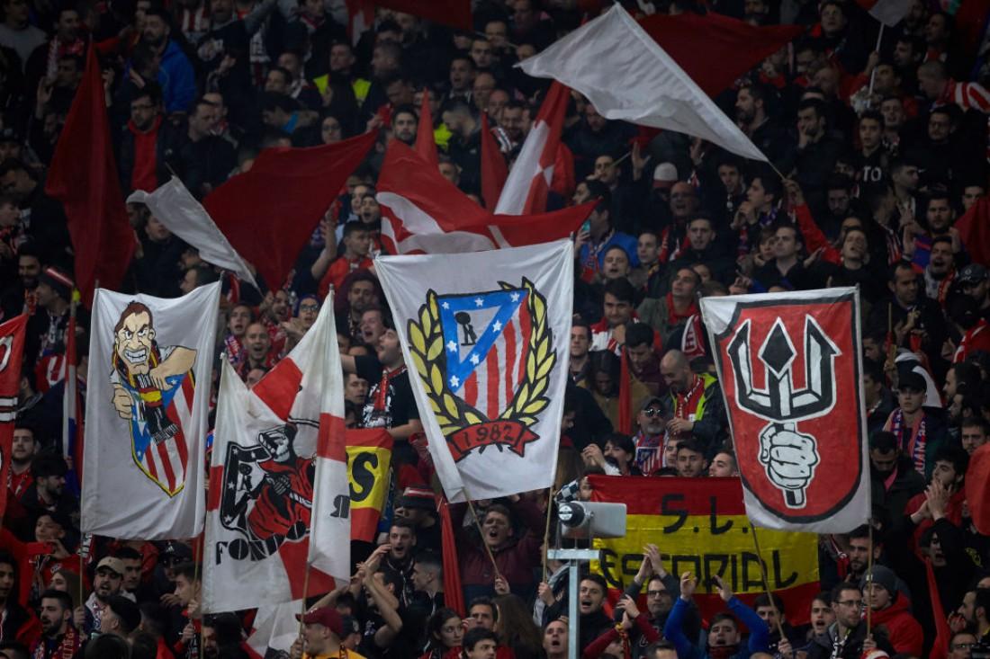 Болельщики Атлетико Мадрид
