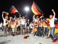 Немцы покоряют Львов. Как фанаты сборной Германии отмечали выход в плей-офф