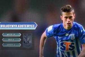 Костевич стал лучшим левым защитником сезона в чемпионате Польши