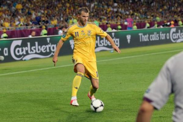 Ярмоленко в ответном матче не имел моментов, чтобы забить