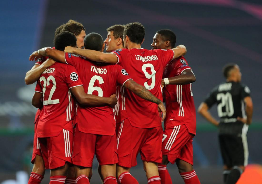 Лион - Бавария: видео голов и обзор матча
