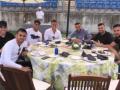 Игроки Реала сходили на шашлык перед поездкой в Киев