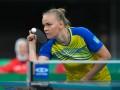 Гапонова проиграла в первом раунде Олимпийского турнира по настольному теннису