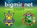 Украина - Латвия Трансляция товарищеского матча
