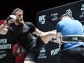 Макгрегор и Нурмагомедов провели открытые тренировки в преддверии своего боя