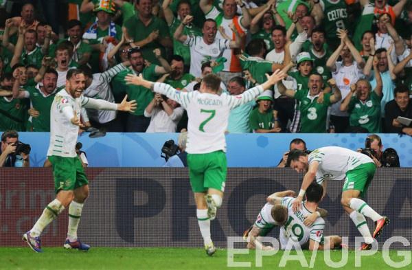 Ирландия побеждает и выходит в плей-офф