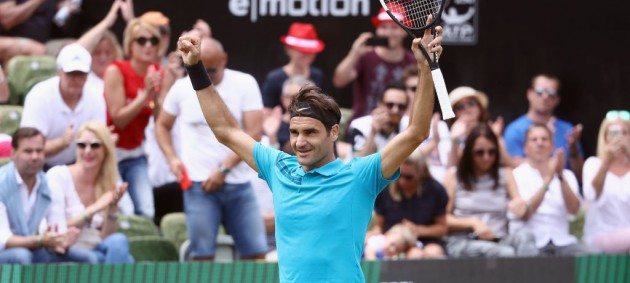 Федерер выиграл турнир в Штутгарте