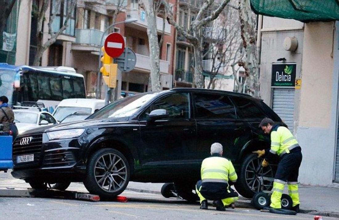 Машину Филиппе Коутиньо отправили на штрафстоянку