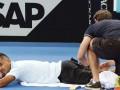 Кирьос пожаловался на здоровье перед матчем с Долгополовым