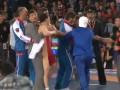 ОМОН вынужден был разнимать драку на чемпионате России по вольной борьбе