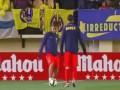 Жонглеры: Блестящая разминка Месси и Неймара перед матчем с Вильярреалом
