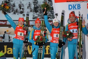 Сборная Украины провела великолепную гонку и заслуженно выиграла