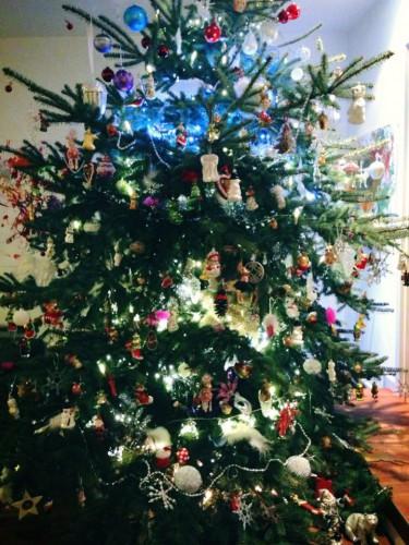 Тимощук уже нарядил новогоднюю елку