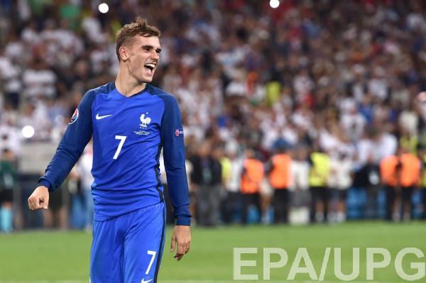 Антуан Гризманн – игрок матча Германия - Франция