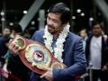 Пакьяо: Хочу бой с Мейвезером, если он желает вернуться на ринг