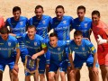 Украина упустила победу во втором поединке Евролиги по пляжному футболу