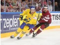 Швеция - Латвия 2:0 Видео шайб и обзор матча ЧМ по хоккею